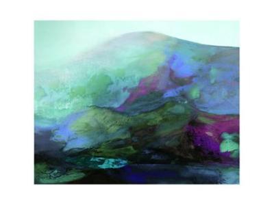 Pink Mountain-Julian Corvin-Collectable Print