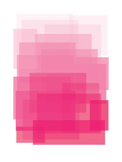 Pink Ombre-Ashlee Rae-Art Print