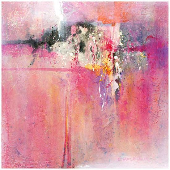 Pink orchid-Carole Malcolm-Art Print