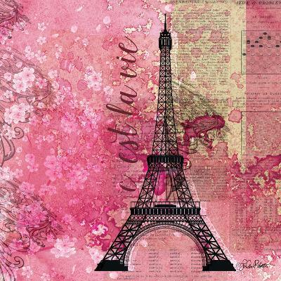 Pink Paris-LuAnn Roberto-Art Print