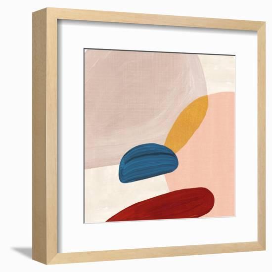 Pink Pebbles II- PI Creative Art-Framed Art Print