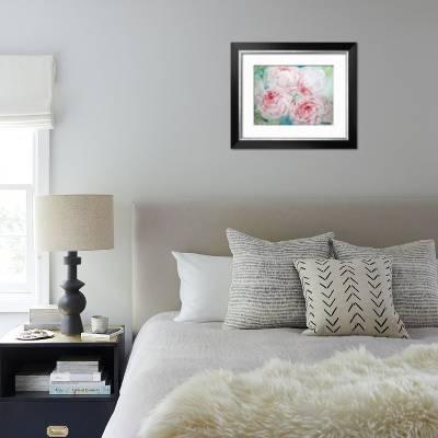 Pink Peonies I Art Print by Paula Giltner | Art.com
