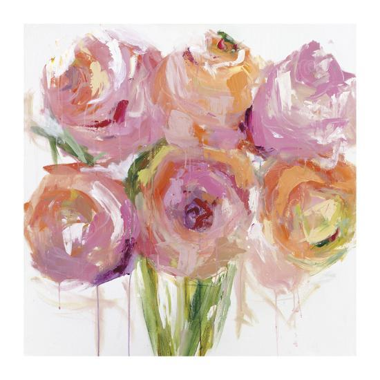 Pink Peonies-Emma Bell-Giclee Print