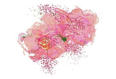 Pink Peonies-Sarah Butcher-Art Print