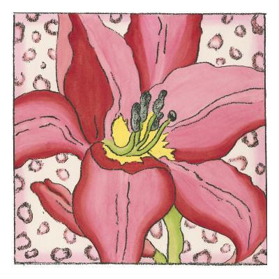 Pink Petals I-Nancy Slocum-Art Print