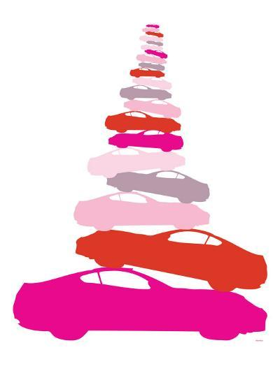 Pink Pile-up-Avalisa-Art Print