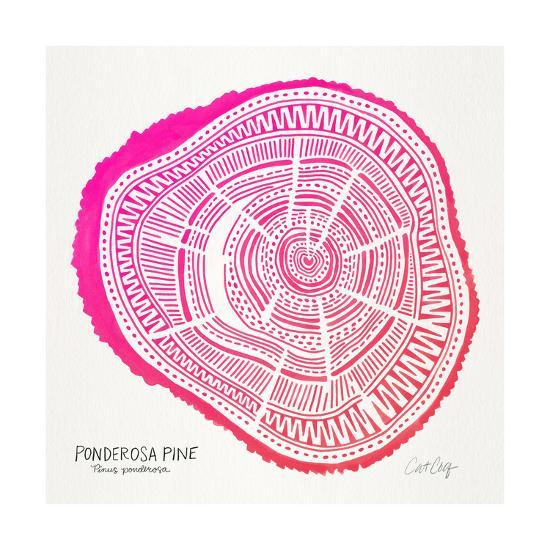 Pink Ponderosa-Cat Coquillette-Giclee Print