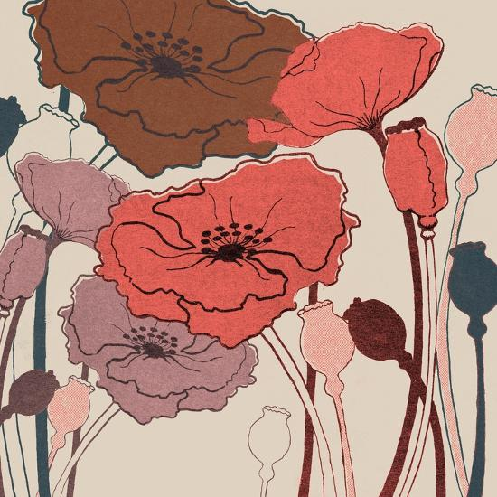 Pink Poppies--Art Print