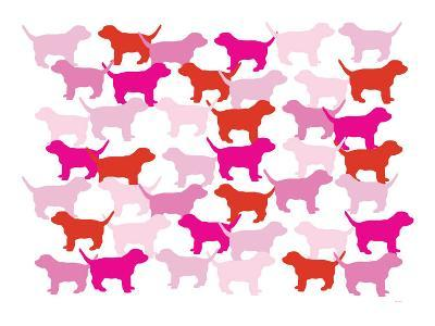 Pink Puppies-Avalisa-Art Print