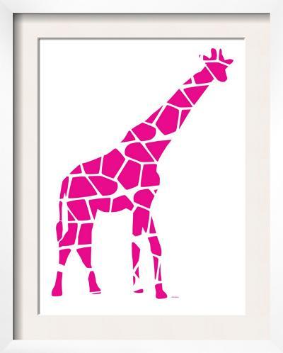 Pink Reticulated-Avalisa-Framed Art Print