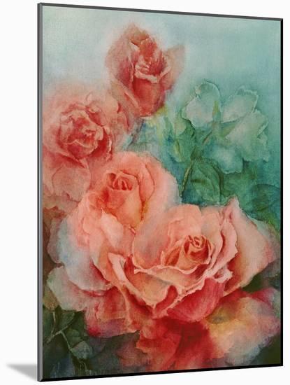 Pink Roses, Prima Ballerina-Karen Armitage-Mounted Giclee Print
