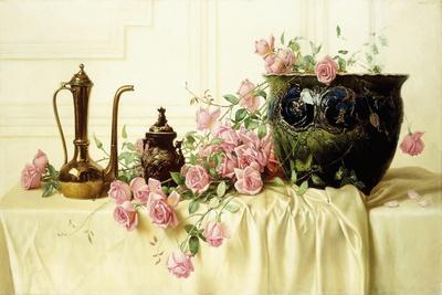 Pink Roses-Milne Ramsey-Giclee Print