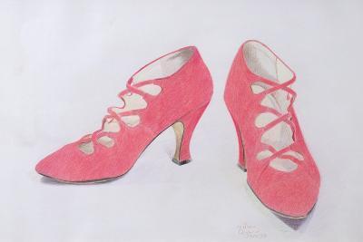 Pink Shoes, 1997-Alan Byrne-Giclee Print