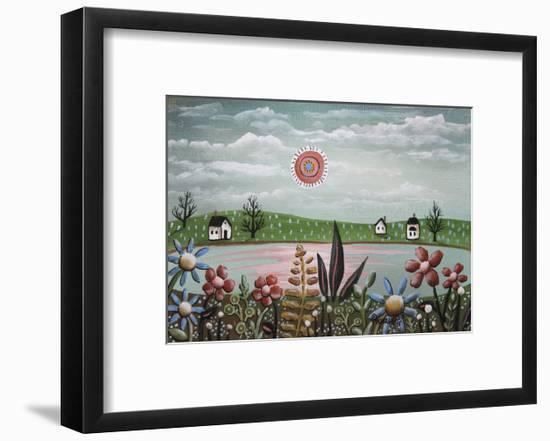 Pink Sunset-Karla Gerard-Framed Premium Giclee Print