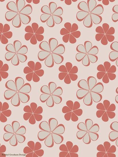 Pink Swirl Pattern-Rachel Gresham-Giclee Print