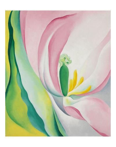Pink Tulip, 1926-Georgia O'Keeffe-Art Print