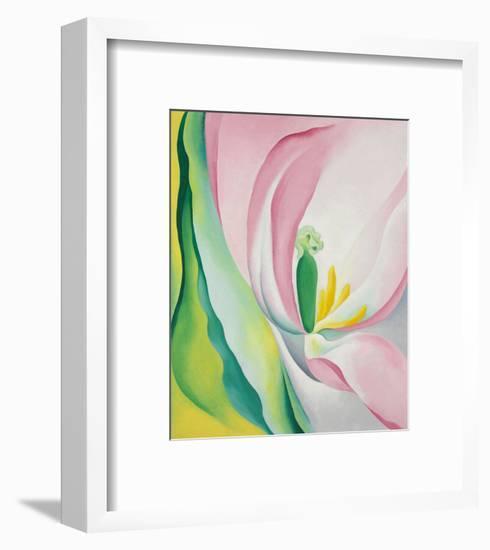 Pink Tulip, 1926-Georgia O'Keeffe-Framed Art Print