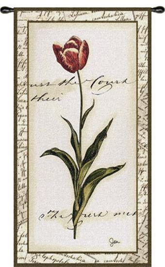 Pink Tulip I--Wall Tapestry