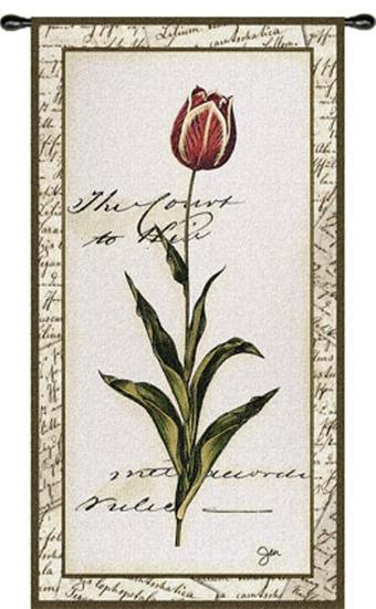 Pink Tulip II--Wall Tapestry