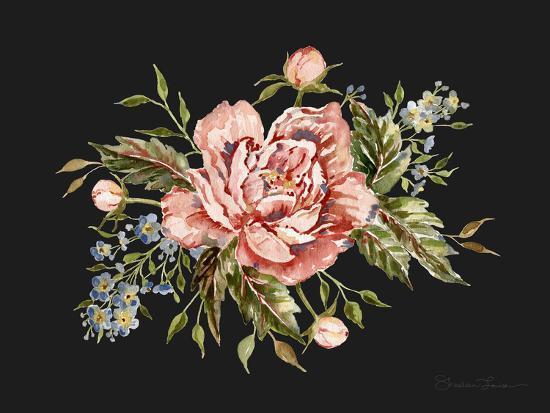 Pink Wild Rose Bouquet-Shealeen Louise-Giclee Print