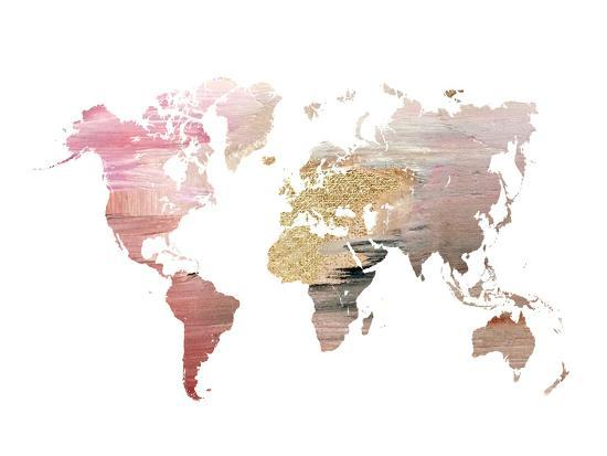 Pink World Map Art Print by , Ikonolexi | Art.com on national geographic world maps print, world map to edit, spring forward sign to print, cool world map print, world map to color, world printout, world map to size, world map to zoom, numbers to print, road map fabric with print, world atlas with latitude and longitude, world globe outline printable, latitude longitude world map print, world map to sketch, markers to print, search to print, congo print, world map to make, world map to label, large labeled world map print,