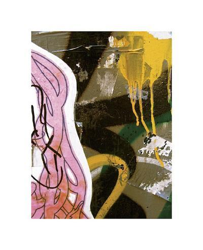 Pink Yellow Tag II-Jenny Kraft-Giclee Print