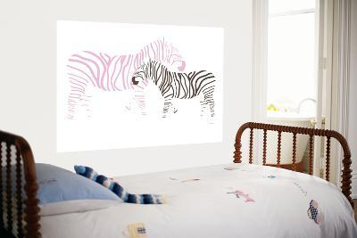 Pink Zebra-Avalisa-Giant Art Print