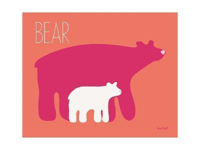 Pink Zoo I-Kris Ruff-Art Print