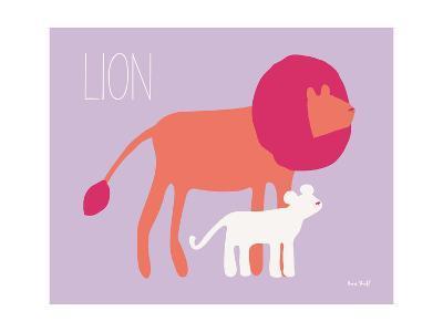 Pink Zoo II-Kris Ruff-Art Print