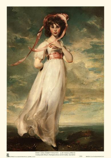 Pinkie-Thomas Lawrence-Art Print