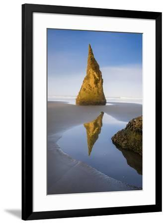 Pinnacle Reflection - Vertical-Michael Blanchette Photography-Framed Giclee Print