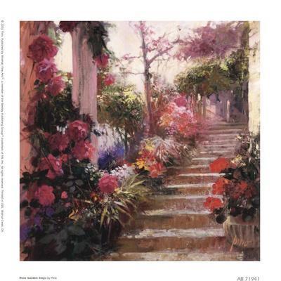 Rose Garden Steps