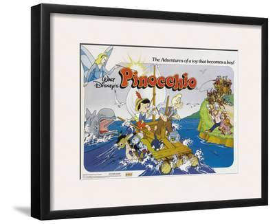 Pinocchio, UK Movie Poster, 1940