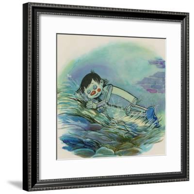 Pinocchio--Framed Giclee Print