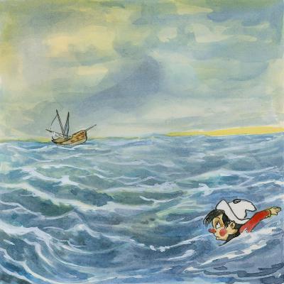 Pinocchio--Giclee Print