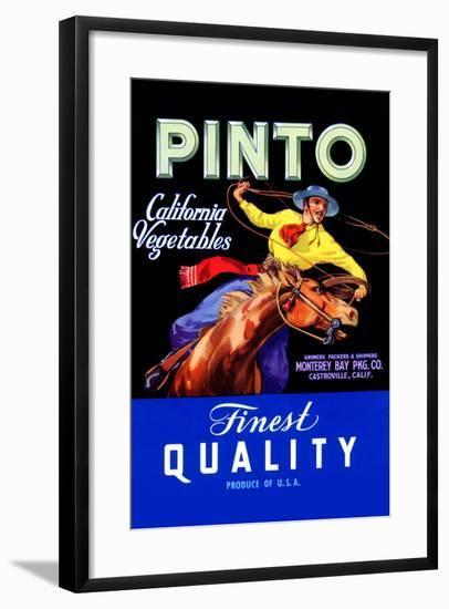 Pinto California Vegetable--Framed Art Print