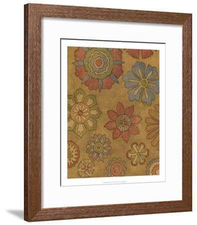 Pinwheel Blossoms II-Megan Meagher-Framed Premium Giclee Print