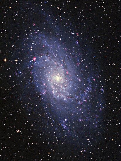 Pinwheel Galaxy (M33)-Slawik Birkle-Photographic Print