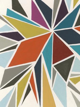 Pinwheel I-Erica J^ Vess-Art Print
