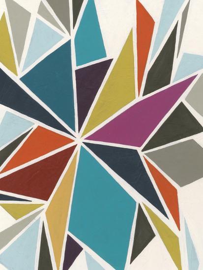 Pinwheel II-Erica J^ Vess-Premium Giclee Print
