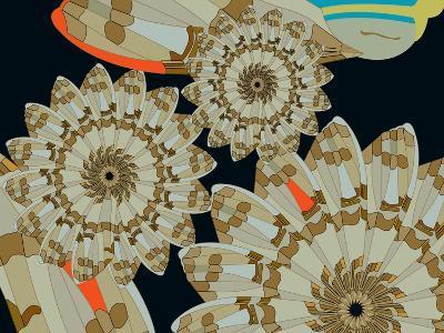 Pinwheel Wing Dune-Belen Mena-Giclee Print