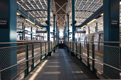 Stillwell Avenue Subway Station, Ny.