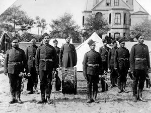 Pipe Band of the 4th Gurkha Rifles, 1900