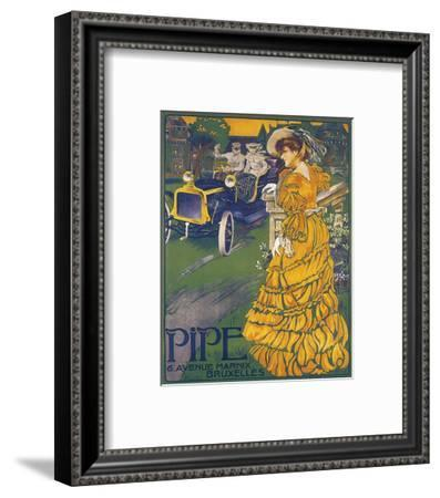 Pipe--Framed Art Print