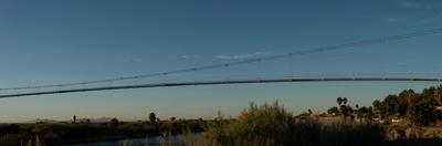 Pipeline Bridge over the Colorado River, Blythe, Riverside County, California, USA