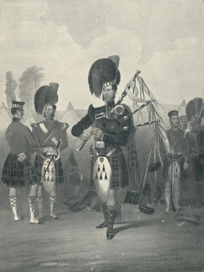 'Piper, 42nd Royal Highlanders', c19th century, (1909)-Unknown-Giclee Print
