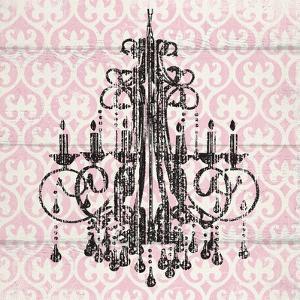 Pink Pattern Chandelier I by Piper Ballantyne
