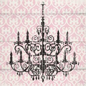 Pink Pattern Chandelier II by Piper Ballantyne