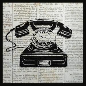 Vintage Telephone by Piper Ballantyne