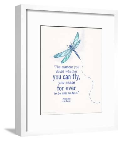 You Can Fly - Children`s Literature Quote Poster
